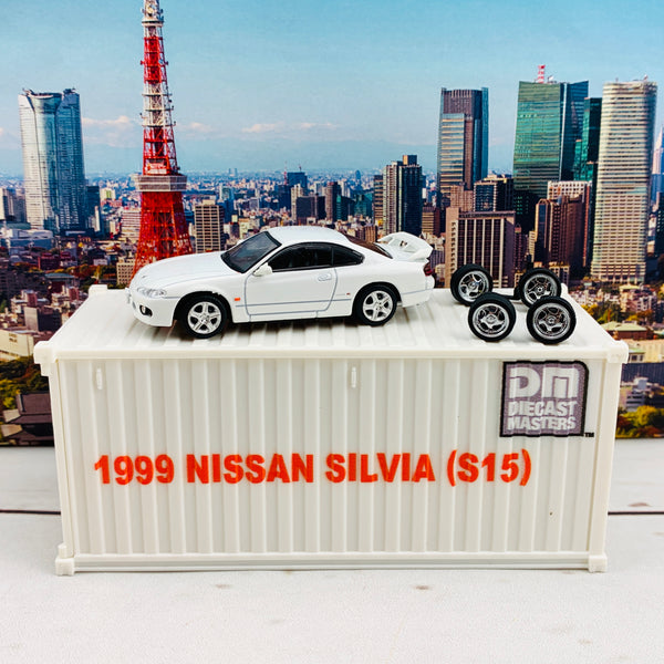 BM Creations JUNIOR 1/64 Nissan Silvia S15 White RHD 64DM64007