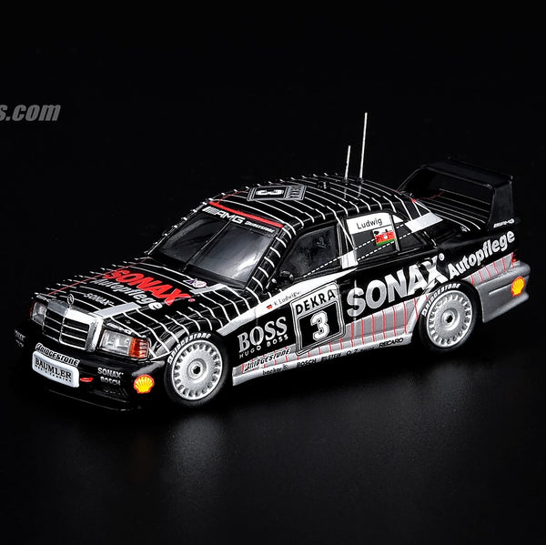 "PREORDER INNO64 MERCEDES BENZ AMG 190E 2.5-16 EVO II #3 ""BOSS/SONAX"" DTM 1992 IN64-190E-BS3 (Release Date : Jan 2020)"
