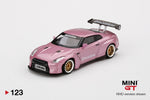 PREORDER MINI GT 1/64 Pandem Nissan GTR R35 GT Wing Passion Pinks RHD MGT000123-R (Approx. Release in April 2020)