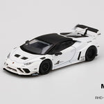 PREORDER MINI GT 1/64 LB★WORKS Lamborghini Huracán GT  White RHD MGT00126-R (Approx. Release Date : June 2020 subject to manufacturer's final decision)
