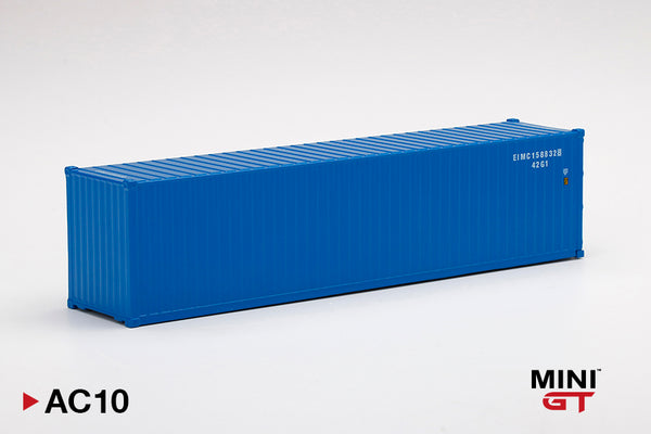 MINI GT 1/64 Dry Container 40' Blue MGTAC10
