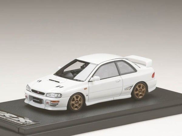 MARK43 1/43 Subaru Impreza WRX type RSTi Version 1997 (GC8) Fether White / Sports Wheel