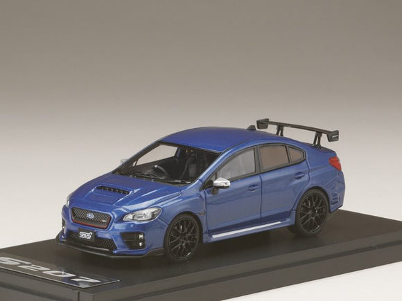 MARK43 1/43 SUBARU S207 NBR CHALLENGE PACKAGE WR Blue Pearl