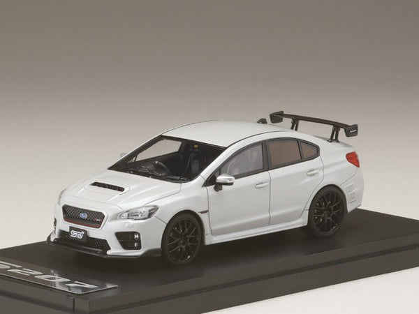 MARK43 1/43 SUBARU S207 NBR CHALLENGE PACKAGE Crystal White Pearl