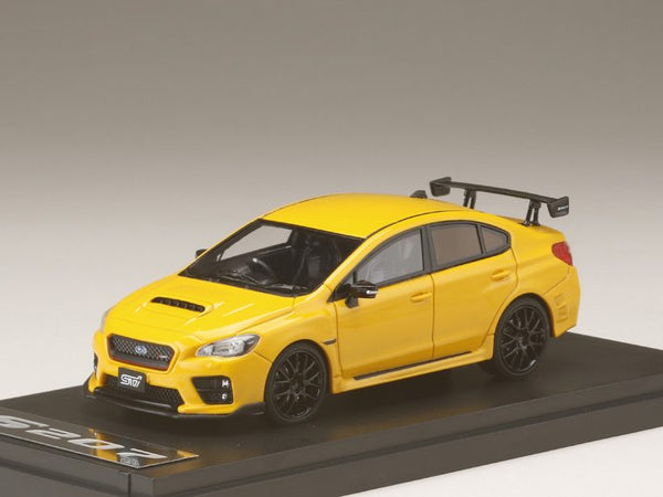 MARK43 1/43 SUBARU S207 NBR CHALLENGE PACKAGE YELLOW EDITION Sunrise Yellow PM4372SY