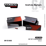Tarmac Works Container Base Set of 2 T64C-001-ADV