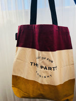 THE PARTY tote bag - Red/Yellow
