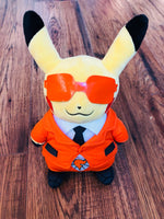 Pikachu Plush Pokemon Centre Orange Glasses