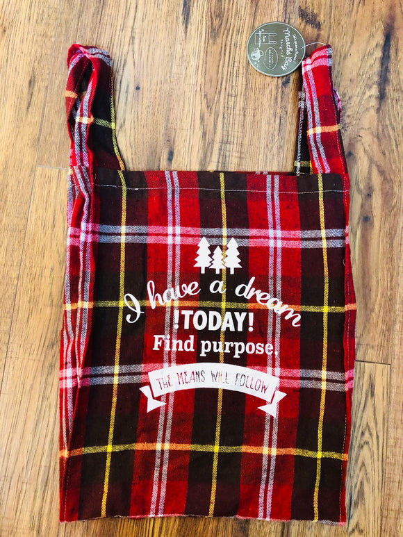 Marche Bag - Red Plaid