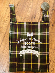 Marche Bag - Green Plaid