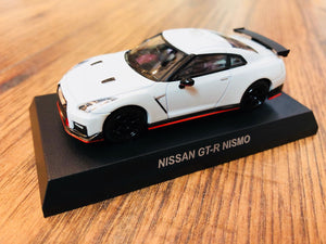 KYOSHO 1/64 NISSAN GT-R NISMO - Brilliant White Pearl