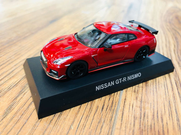 KYOSHO 1/64 NISSAN GT-R NISMO - Vibrant Red