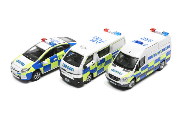 Tiny City Police Vehicle Set 城市 合金車仔 — Bs04 警車套裝