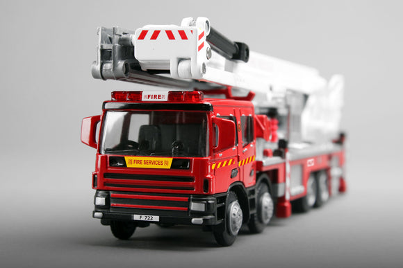 Tiny City Ladder Fire Engine 城市 1/50 Dx1 登高消防車