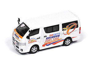 Tiny City Toyota Hiace Hung Chun Driving School 城市 108 合金車仔 — 豐田Hiace鏗鏘駕駛學校