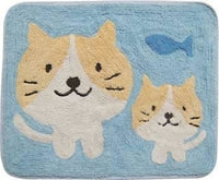 Cat and Fish Floor Mat 40cm x 50cm #510813