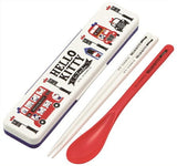 HELLO KITTY in London Chopstick and Spoon Set CCS3SA