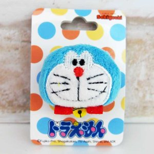 Doraemon Plush Toy Badge with Pin by Sekiguchi 698493