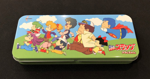 Dr. Slump Multi-Purpose Tin Box BLUE TEDR863