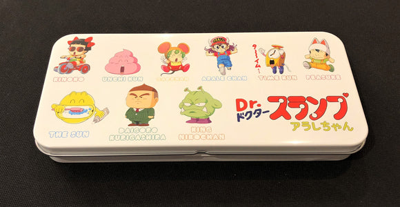 Dr. Slump Multi-Purpose Tin Box WHITE TEDR1019