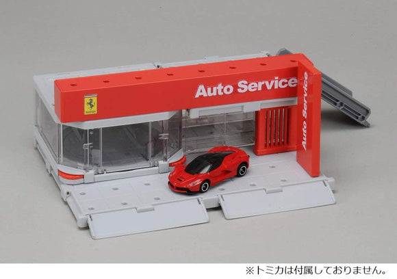 TOMICA Town City Scene Ferrari Showroom