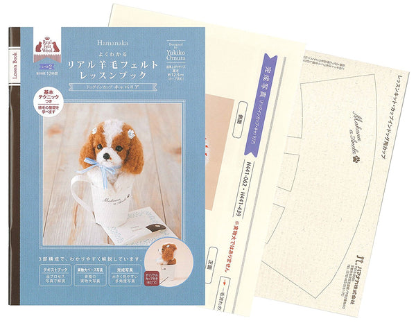 Hamanaka Real Felt Wool Lesson Book Level 2