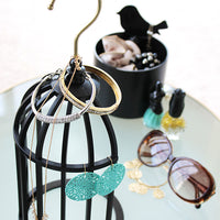 Tori-cago Birdcage Hanging Storage - Black Made in Japan