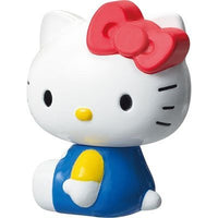 TAKARA TOMY Hello Kitty Blue Metal Figure