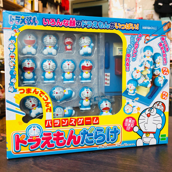 PINCHING & PILED UP BALANCE GAME DORAEMON RIDDLED by EPOCH