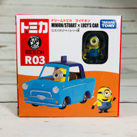 DREAM TOMICA Ride On R03 Minion Stuart x Lucy's Car