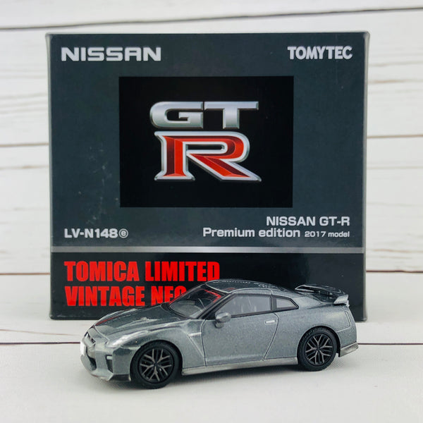 Tomica Limited Vintage Neo Nissan GTR Premium Edition 2017 Model GREY LV-N148e
