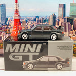 MINI GT 1/64 Mercedes-Benz 190E 2.5-16 Evolution II Black LHD MGT00164-L