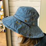 Safari 2-way Hat - Navy