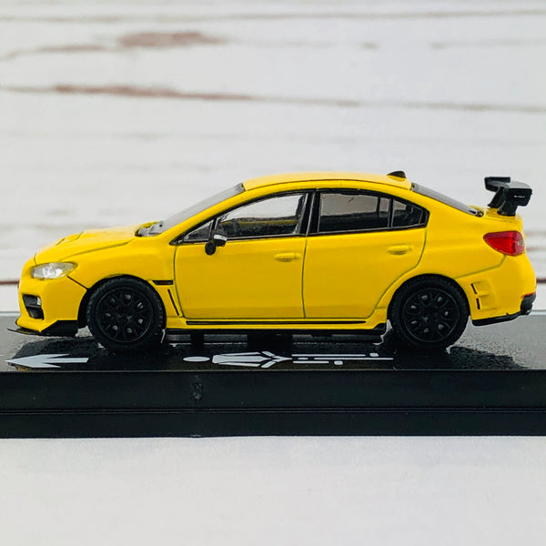Tarmac Works 1/64 Subaru WRX STI S207 NBR Package Sunrise Yellow