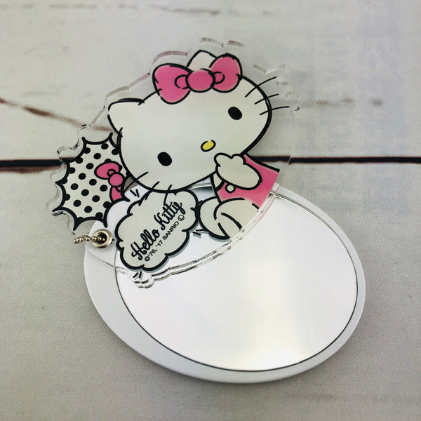Hello Kitty Folding Mirror CKT-02 Made in Japan