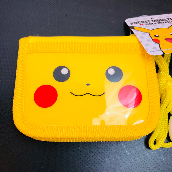Pokemon Sun & Moon Pikachu Series RF Wallet Yellow PM-2833