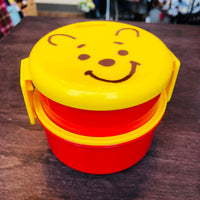 Winnie the Pooh Round Lunch Box Set by SKATER ONWR1