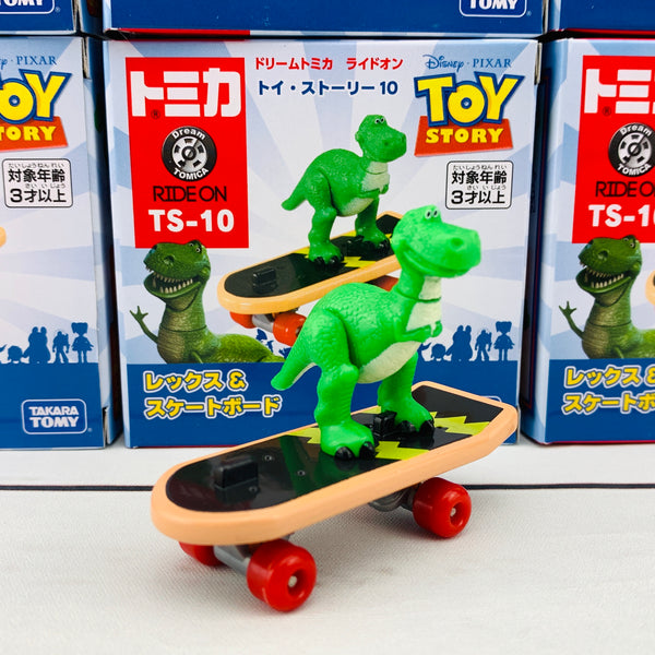 DREAM TOMICA Disney Toy Story Ride On TS-10 Rex & Skateboard