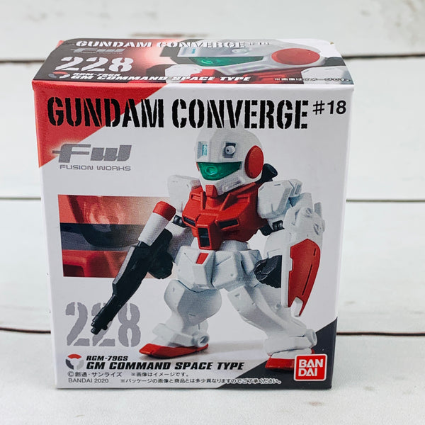 FUSION WORKS Gundam Converge #18 - 228 RGM-79GS GM COMMAND SPACE TYPE