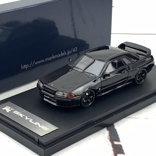 Mark43 1/43 NISSAN SKYLINE GTR (BNR32) NISMO Customized version Black PM4304NBK