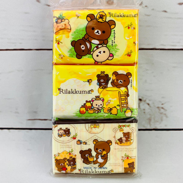 Hayashi Rilakkuma Pocket Size Tissue x 6 Packs