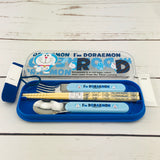 I'm Doraemon Cutlery with Chopsticks Set by Sanrio A14DRB Made in Japan