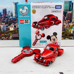 Tomica Shop Original Tomica 50th Anniversary Edition Disney Motors Dream Star III Mickey Mouse Key Set