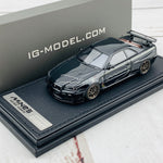 Ignition Model 1/43 Nissan Skyline GTR Mine's R34 Black IG1815