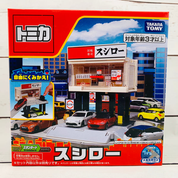 TOMICA Town Build City Sushiro