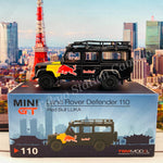 MINI GT 1/64 Land Rover Defender 110 Red Bull LUKA LHD MGT000110-L