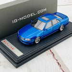 Ignition Model 1/43 Nissan Skyline 25GT Turbo ER34 Blue Metallic IG1612