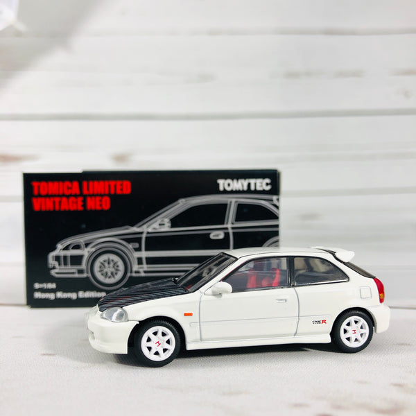 Tomica Limited Vintage Tomytec Hong Kong Edition Honda Civic Type R White