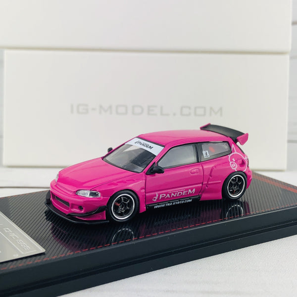 Ignition Model 1/64 Pandem Civic (EG6) Pink 1839