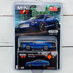 MIJO Exclusives Mini GT 1/64 Bentley COntinental GT Sequin Blue LHD MGT00094-MJ